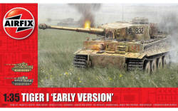 Airfix - Tiger-1, Early Version - 1:35 (A01363)