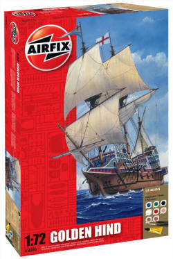 Airfix Model Kit - Golden Hind - A50046