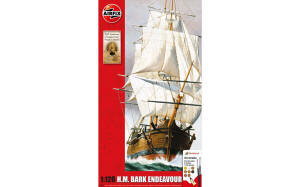 Airfix - Endeavour Bark and Captain Cook 250th anniversary - 1:120 (A50047)