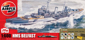 Airfix Model Kit - HMS Belfast - A50069