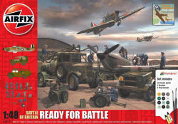 Airfix - Battle of Britain - Ready for Battle Gift Set - 1:48