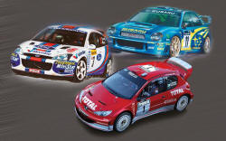 Airfix - Rally Car Collection - 1:43 (A50188)