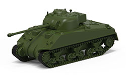 Airfix - Small Beginners Set Sherman Firefly - 1:72 (A55003)