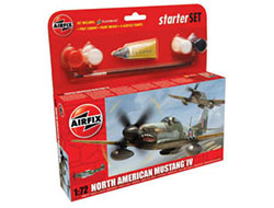 Airfix - North American Mustang IV P-51 - Gift Set - 1:72 (A55107)