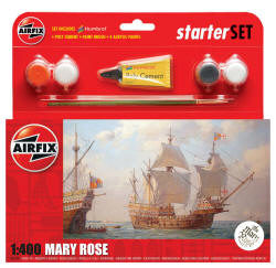 Airfix - Mary Rose Starter Set - 1:400 (A55114)