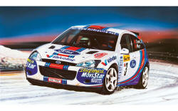 Airfix - Small Starter Set Ford Focus WRC -1:43 (A55122)