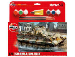Airfix - King Tiger Tank Gift Set - 1:76 (A55303)