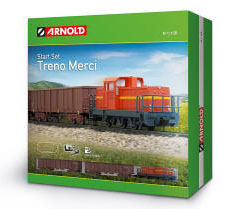 Arnold N Guage Model Railway - Hornby International - HN1005 - Arnold - Arnold - Italian Industrial Freight Train Set