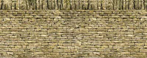 Art Printers - Dry Stone Wall Double - BM25