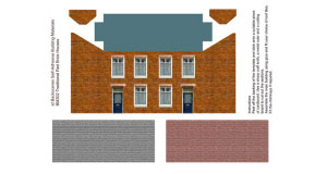 Art Printers - Red Brick House - BM302
