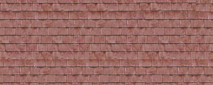Art Printers - Red Roof Tiles - BM63