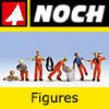 Noch Model Railway Figures and Accessories