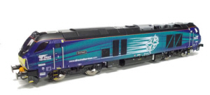 4D-022-008S - Dapol Class 68 Astute 68003 DRS Early Service DCC & Sound
