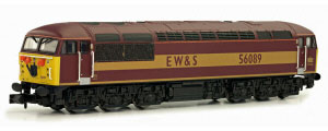 2D-004-005D - Dapol N-Gauge - Class 56 (Doncaster Built) EWS 56089 (DCC Fitted)