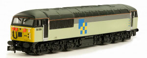 2D-004-008D - Dapol N-Gauge - Class 56 (Doncaster Built) Construction Livery 56056 (DCC Fitted)
