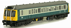 2D-009-002D - Dapol N-Gauge - Class 121 BR Blue / Grey  (DCC Fitted)