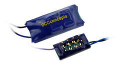 DCDCDZN8D - DCC Concepts - ZEN NANO 8 Pin Direct 4 Function Decoder w/Stay Alive