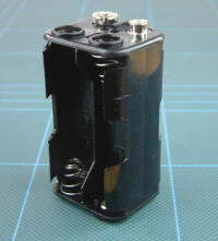 New Modellers Shop - Model Railway - 4AA Battery Holder