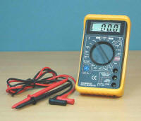 Expo Tools - LCD Digital Multimeter - 270-16