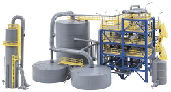 FA130175 - Faller - Chemical Plant Kit IV