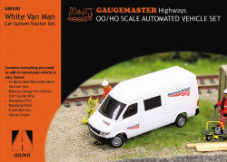 Gaugemaster - White Van Man Car System Starter Set - GM330