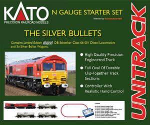 Gaugemaster Kato (British) GMKS004 The Silver Bullets Starter Set - GMKS004