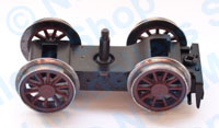 Hornby Spares - Tender Bogie Coupling and Wheel - X5086rd
