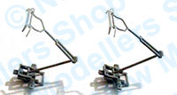 Hornby Spares - Pantograph Kit - 395 Hitachi Blue Rapier  (Pack of 2) - X6254