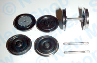 Hornby Spares - Ringfield Tender Wheel Set - Flying Scotsman - X9059
