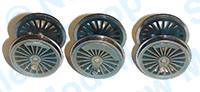 Hornby Spares - Locomotive Drive Wheel Set - Class 5 Weatherd - X9089W