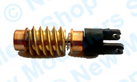 X9243 - Hornby Spares - Worm / Pinion Shaft Assembly - Class 50