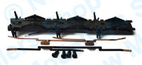 Hornby Spares - Grange Class Chassis Bottom and Pickups - X9354