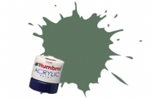 Humbrol - Army Green Matt Acrylic Paint 12ml Tinlet - AB0102