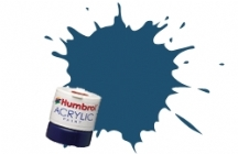 Humbrol - Oxford Blue Matt Acrylic Paint 12ml Tinlet - AB0104