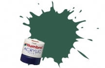 Humbrol - US Dark Green Matt Acrylic Paint 12ml Tinlet - AB0116