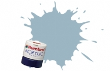 Humbrol - US Ghost Grey Satin Acrylic Paint 12ml Tinlet - AB0127