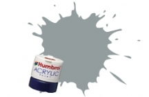 Humbrol - US Gull Grey Satin Acrylic Paint 12ml Tinlet - AB0129