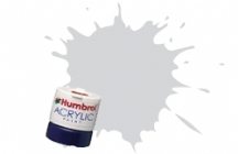 Humbrol - Signal Light Grey Satin Acrylic Paint 12ml Tinlet - AB0196