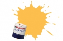 Humbrol - Trainer Yellow Matt Acrylic Paint 12ml Tinlet - AB0024