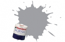 Humbrol - Pale Grey Gloss Acrylic Paint 12ml Tinlet - AB0035