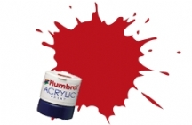 Humbrol - Scarlet Red Matt Acrylic Paint 12ml Tinlet - AB0060
