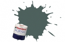 Humbrol - Bronze Green Acrylic Paint 12ml Tinlet - AB0075
