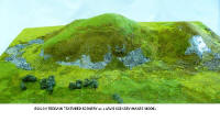 Javis Scenics - JHILL1 - Spring Mix Rough Terrain Scenery Covering for Hillsides