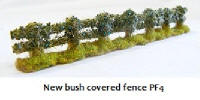 Javis - PF4 - Rough Country Fencing with Bushes