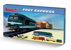 Jouef - Fret Express Work Crane Starter Train Set - HJ1028