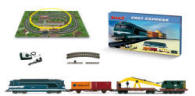 Lima - Jouef - Fret Express Work Crane Starter Train Set - HJ1028