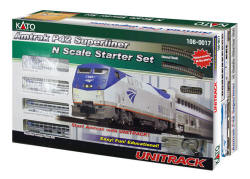 KATO - Amtrak P42 Superliner Passenger Starter Train Set - 106-0017