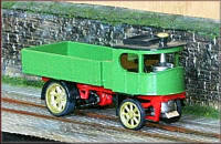 Knightwing Model Railway Plastic Kits - 1924 Atkinson Steam Wagon - KWH15