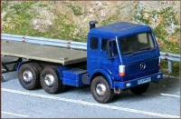 Knightwing Model Railway Plastic Kits - Mercedes Artic Tractor Unit - KWH21