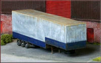 Knightwing Model Railway Plastic Kits - Low Loader 3 Axle Trailer Step - KWH5